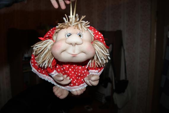 чулочная техника куклы обереги Пусть удача поворачивается к вам лицом